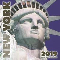 New York 2019 Mini Wall Calendar by Wall Publishing