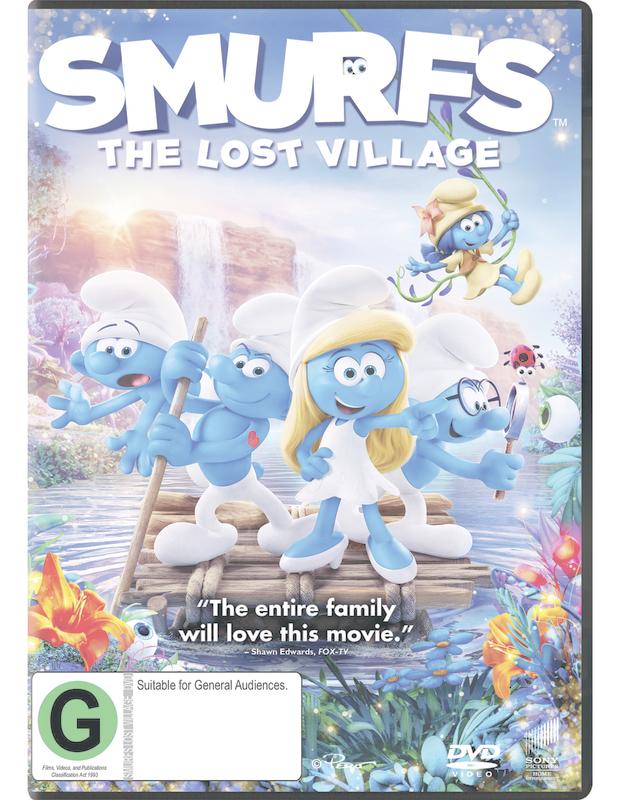 Smurfs: The Lost Village on DVD