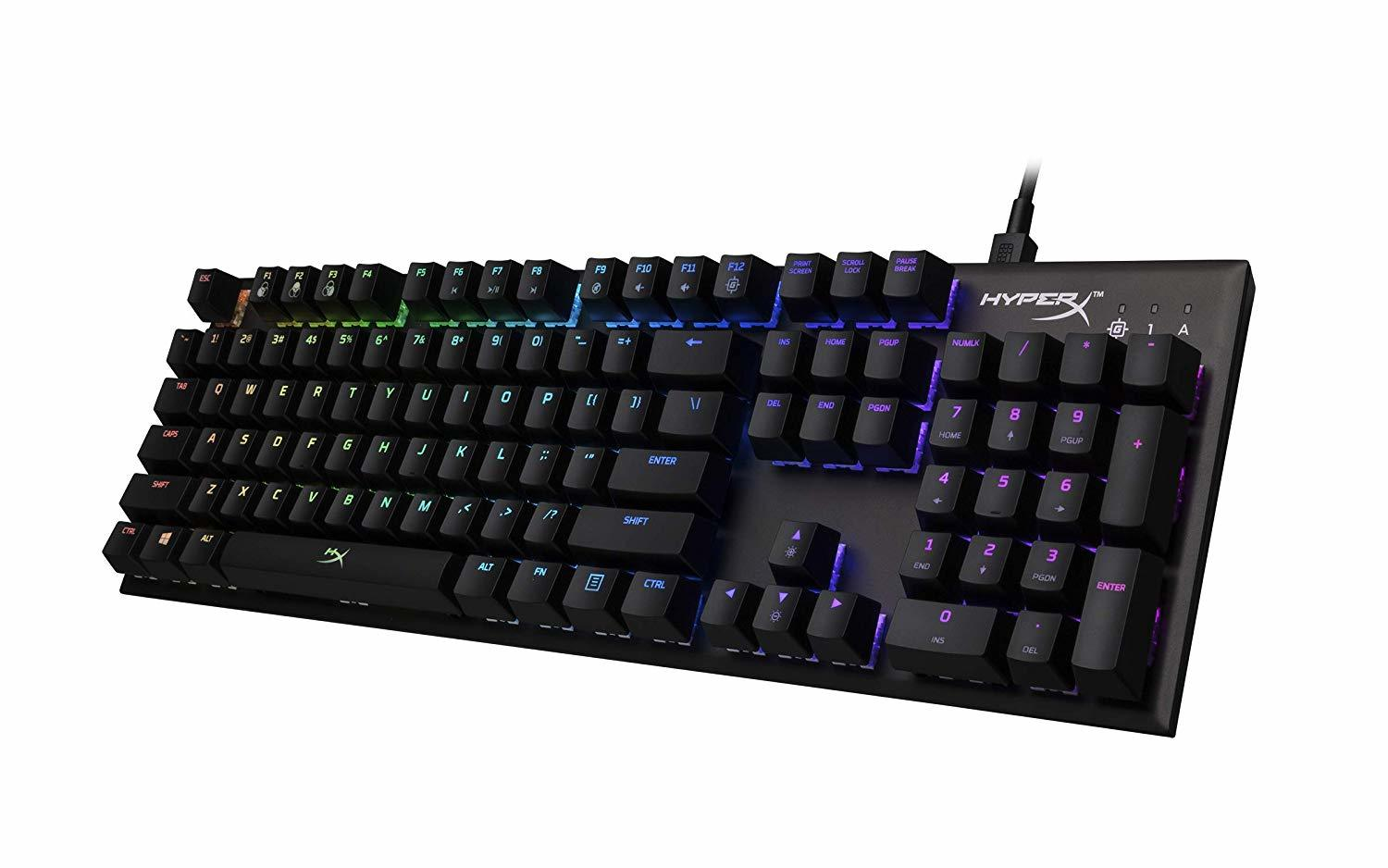 HyperX Alloy FPS RGB Mechanical Gaming Keyboard screenshot
