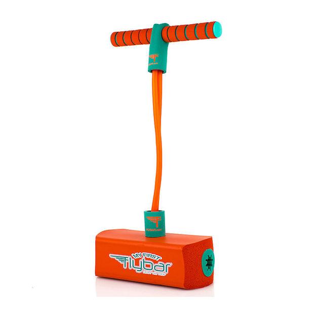 Flybar: Jump & Squeak Pogo Hopper - Orange