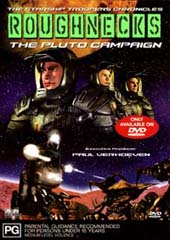 Roughnecks - The Starship Troopers Chronicles: The Pluto Campaign on DVD