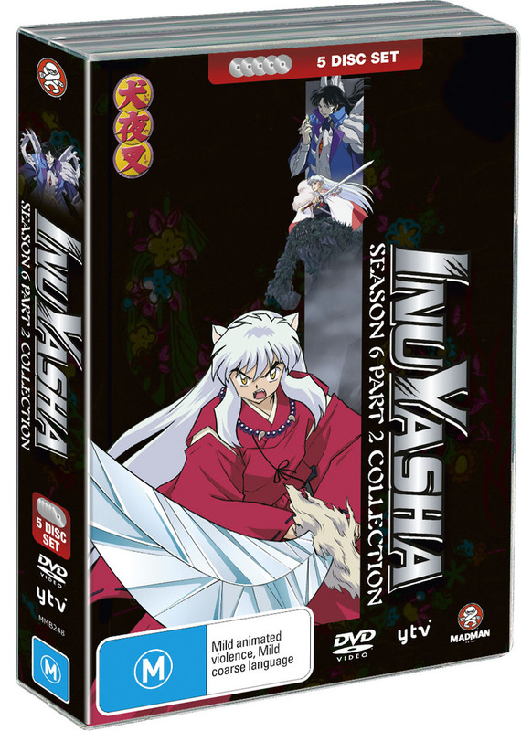 Inuyasha Season 6 Part 2 Collection (Fatpack) on DVD