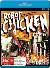 Robot Chicken - The Complete Sixth Season on Blu-ray
