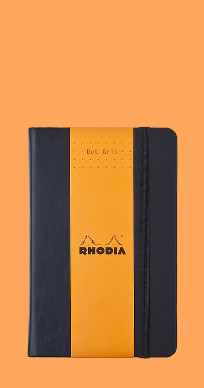 Rhodia Webnotebook A6 Dot Grid (Black)