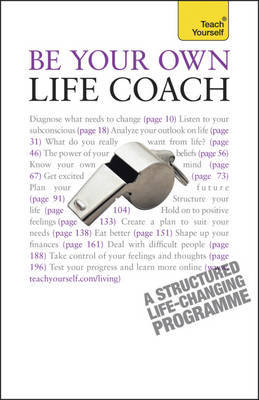 Be Your Own Life Coach: Teach Yourself by Jeff Archer image