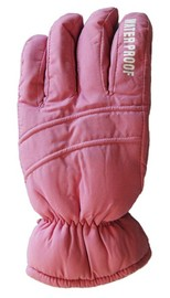 Mountain Wear: Wild Pink Z18R Kids Gloves (Large)