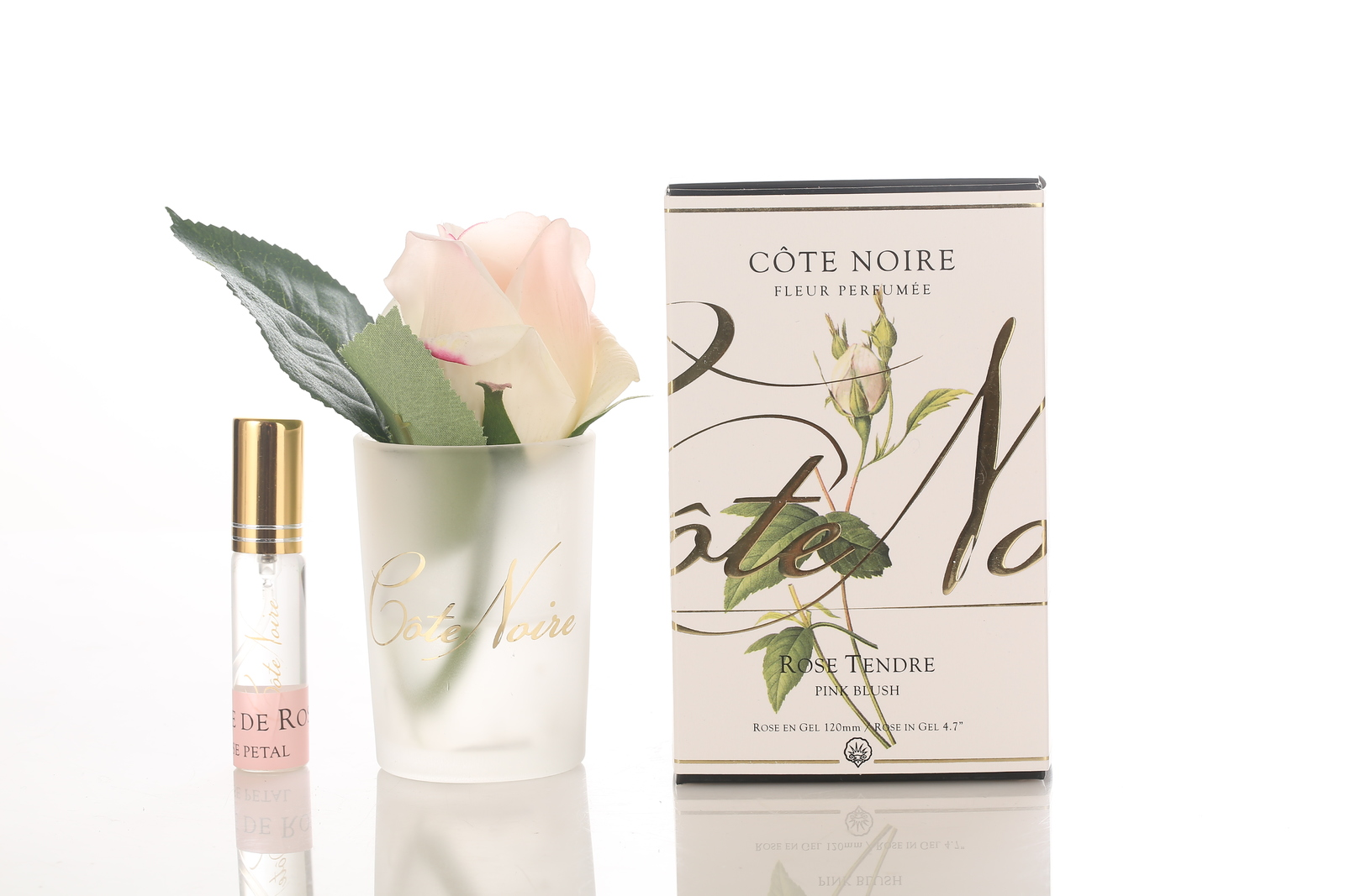 Côte Noire Perfumed Natural Touch Rose Bud (Pink Blush - Frost) image
