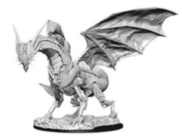 Pathfinder Deep Cuts: Unpainted Miniatures - Clockwork Dragon