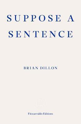 Suppose a Sentence by Brian Dillon