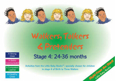 Walkers, Talkers and Pretenders: Stage 4: 24-36 Months by Clare Beswick image