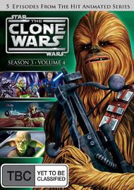 Star Wars: The Clone Wars - Season 3 Volume 4 on DVD