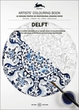 Pepin Press Colouring Book - Delft by Pepin Van Roojen