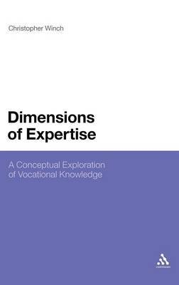 Dimensions of Expertise by Christopher Winch image
