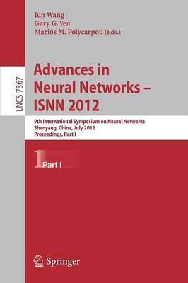 Advances in Neural Networks - ISNN 2012 image