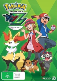 Pokemon: The Series - XYZ Collection 1 on DVD