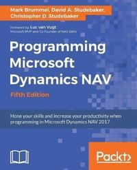 Programming Microsoft Dynamics NAV - Fifth Edition by Mark Brummel image