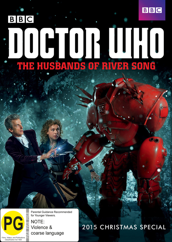 Doctor Who: The Husbands of River Song on DVD