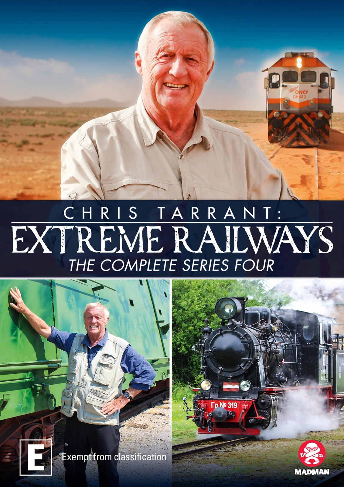 Chris Tarrant's Extreme Railways: Series 4 on DVD image