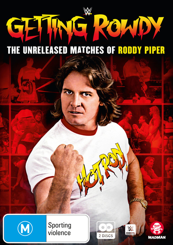WWE: Getting Rowdy: The Unreleased Matches Of Roddy Piper on DVD