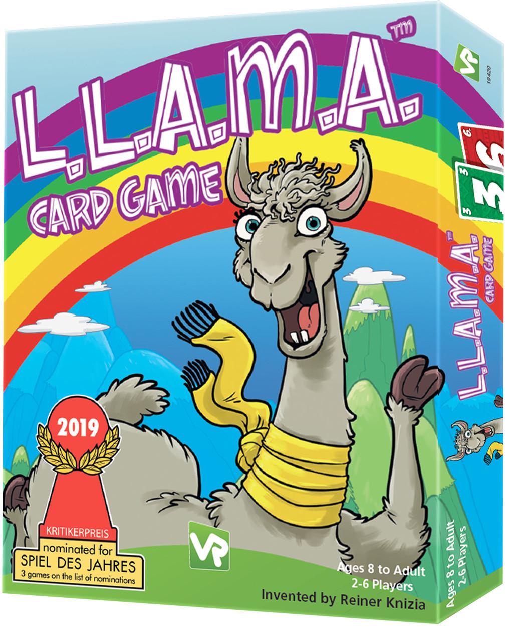 L.L.A.M.A - Card Game image
