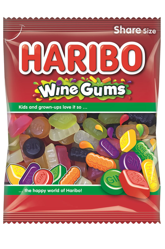 Haribo Wine Gums 140g 12pk