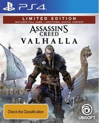 Assassin's Creed Valhalla Limited Edition for PS4