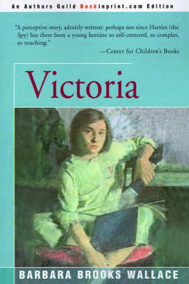 Victoria by Barbara Brooks Wallace image