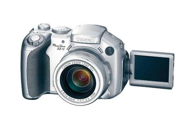 Canon Digital Camera Still Powershot 5.0 MP S2 IS