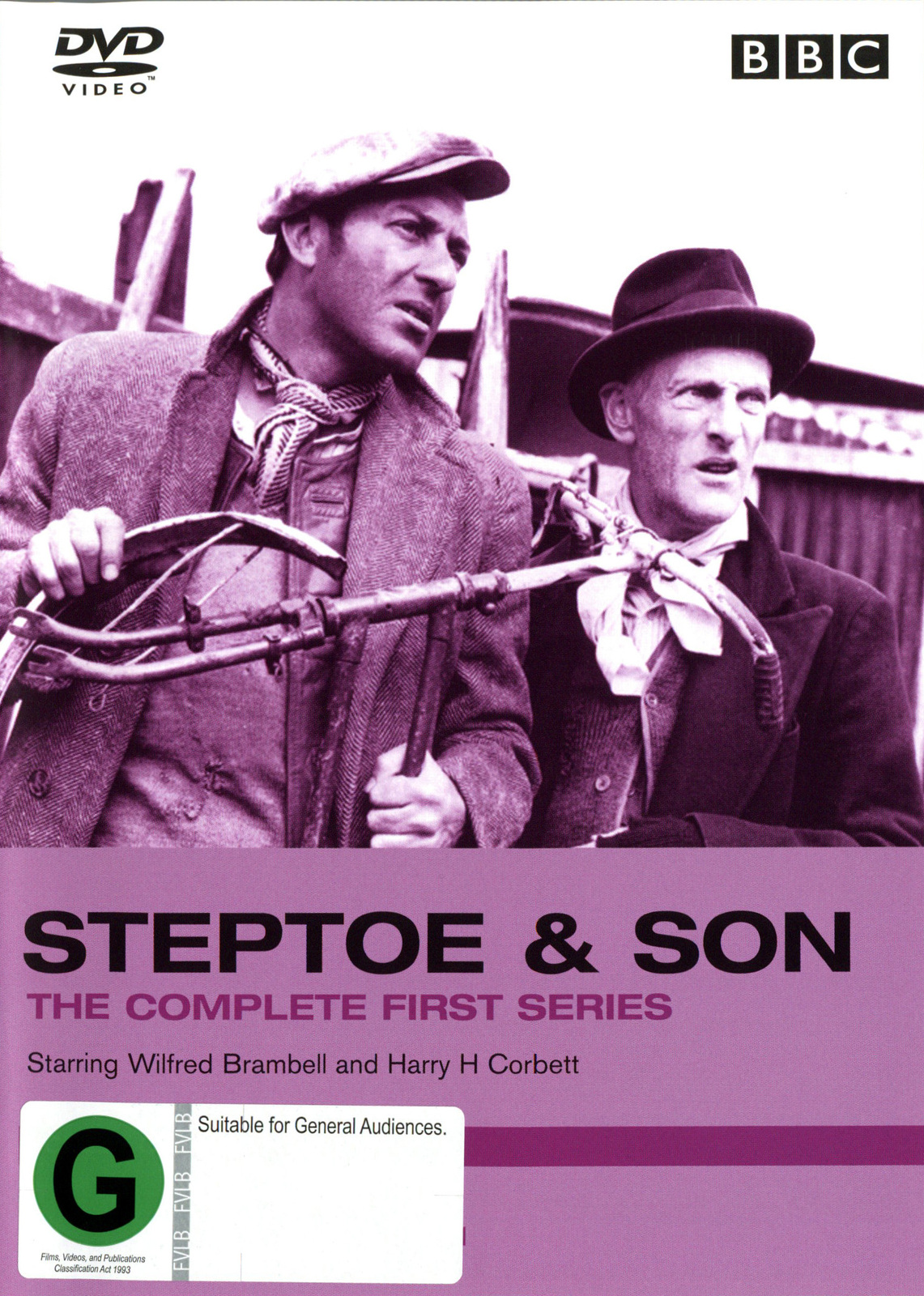 Steptoe And Son - The Complete First Series on DVD image