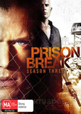 Prison Break - Complete Season 3 (4 Disc Set) DVD