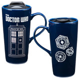 Doctor Who Heat Reactive Ceramic Travel Mug (590ml)