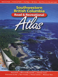 Southwestern British Columbia Road and Recreational Atlas by Stan Shadick image