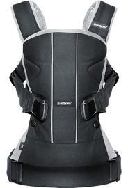 Baby Bjorn Baby Carrier One (Black/Silver)