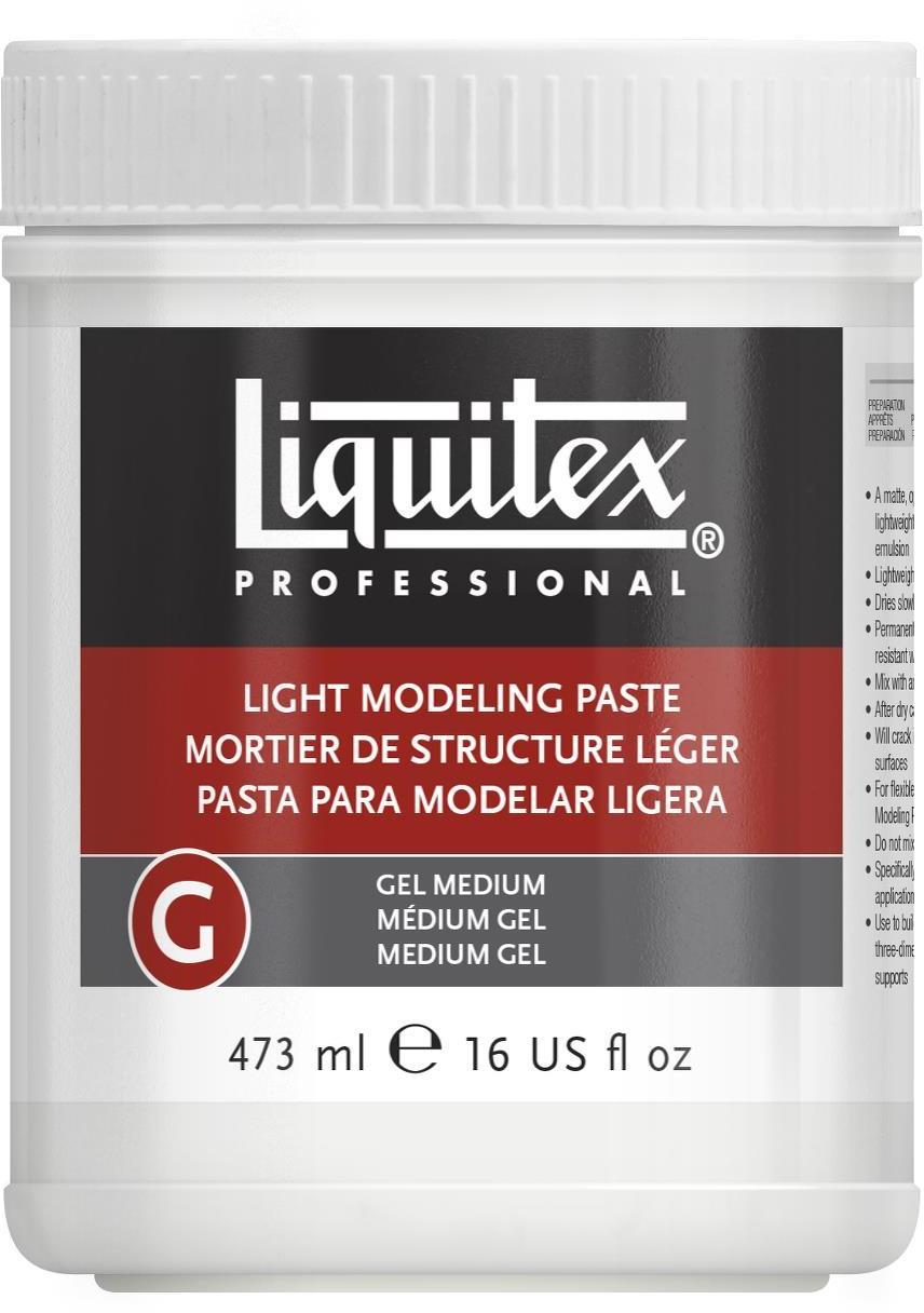 Liquitex: Light Modeling Paste Gel (473ml)