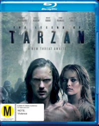 The Legend of Tarzan on Blu-ray