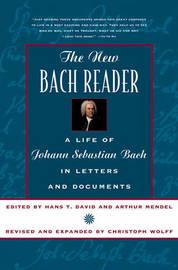 The New Bach Reader by Hans T. David image