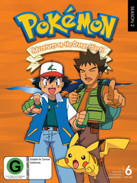 Pokemon - Season 2: Adventures on the Orange Islands (6 Disc Set) DVD