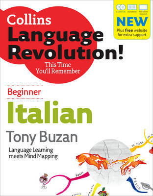 Italian: Beginner by Tony Buzan image