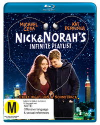 Nick & Norah's Infinite Playlist on Blu-ray image