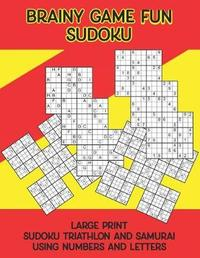 Brainy Game Fun Sudoku by Karen a Barthol image