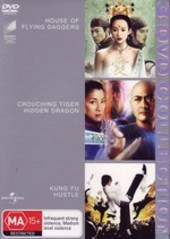 House Of Flying Daggers / Crouching Tiger Hidden Dragon / Kung Fu Hustle - 3 DVD Collection (3 Disc Set) on DVD