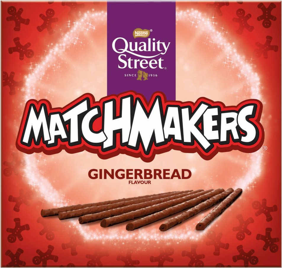 Nestle Quality Street Gingerbread Matchmakers (120g) image