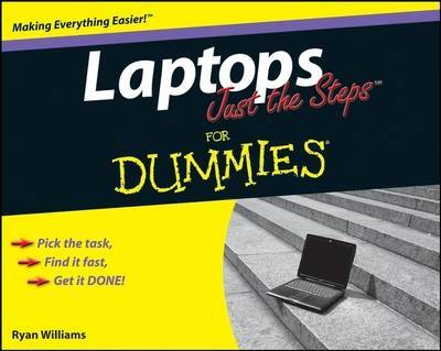Laptops Just the Steps For Dummies by Ryan C. Williams image