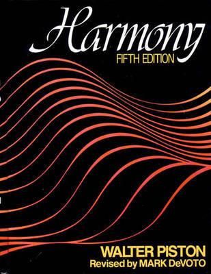 Harmony by Walter Piston image