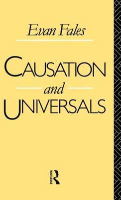 Causation and Universals by Evan Fales image