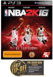 NBA 2K16 for PS3