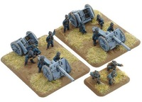 Flames of War - French 75mm mle 1897 Gun