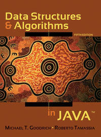 Data Structures and Algorithms in Java by Michael T. Goodrich image