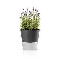 Self-Watering Flowerpot - 20.5cm (Stone Grey)