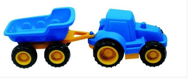 Hape: Tractor & Hopper Trailer